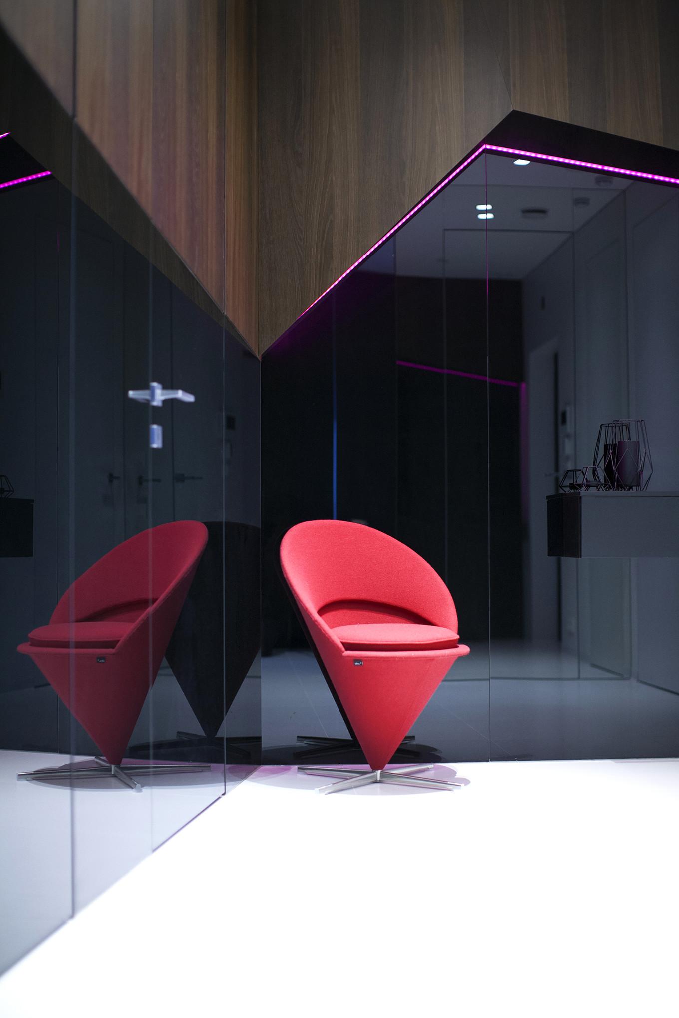 Этюд в геометрических тонах от Geometrix Design