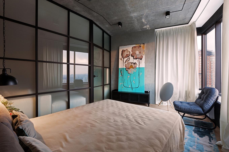 Квартира Skyline Loft
