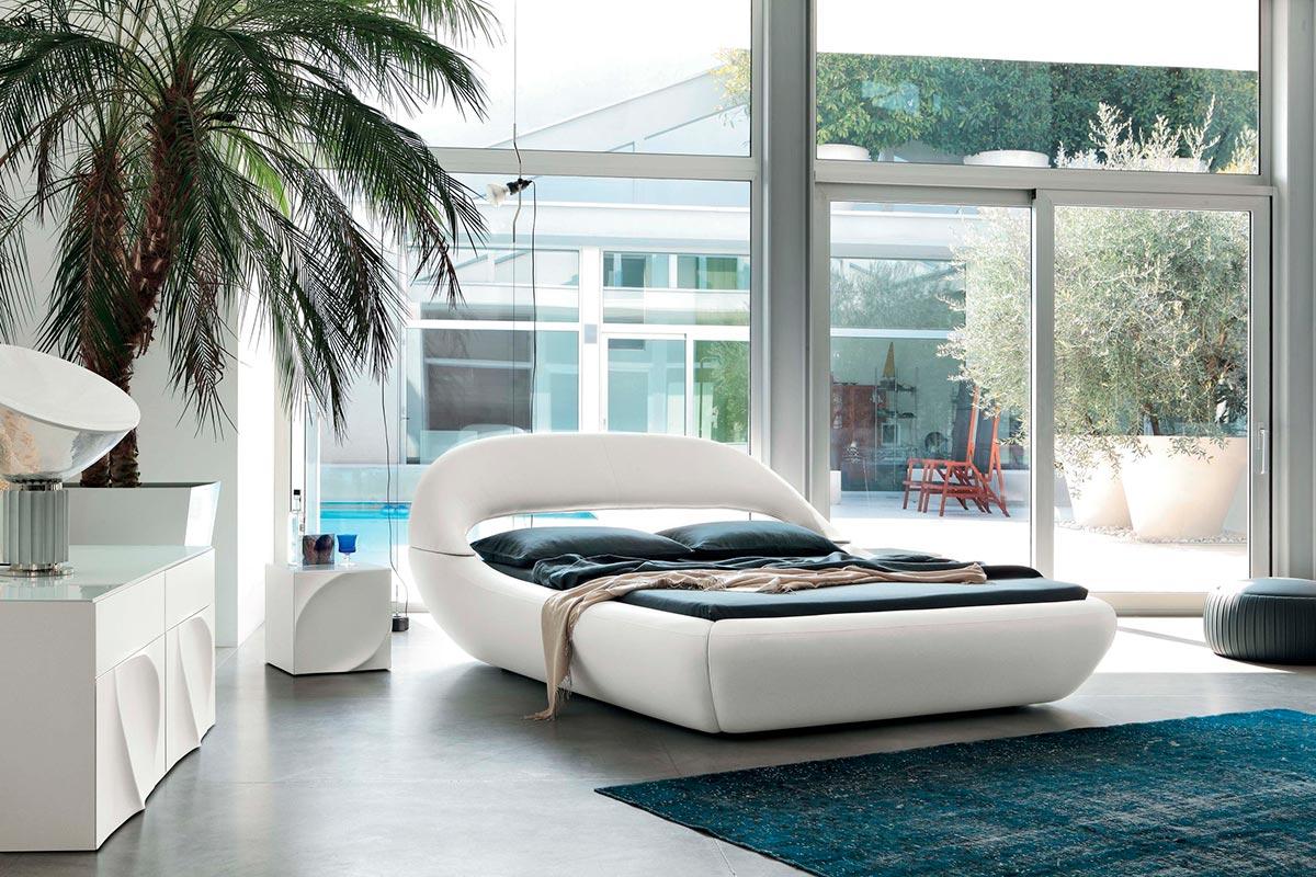 Кровать Sleepy от Angelo Tomaiuolo для Tonin Casa