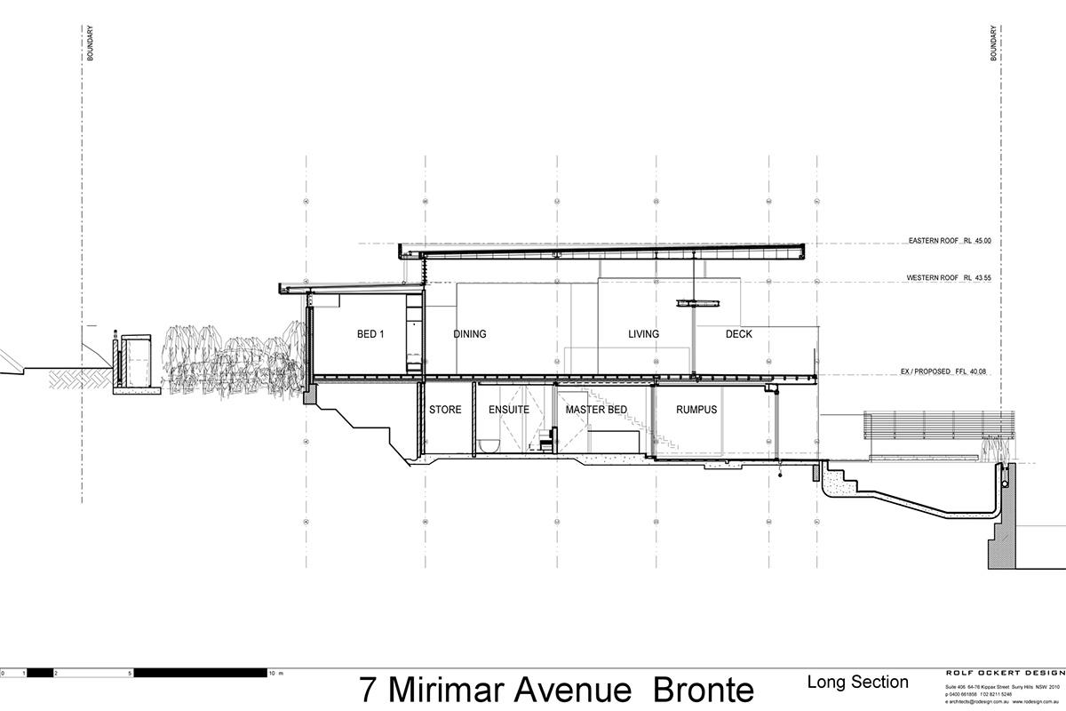 Дизайн частного дома Bronte от студии Rolf Ockert